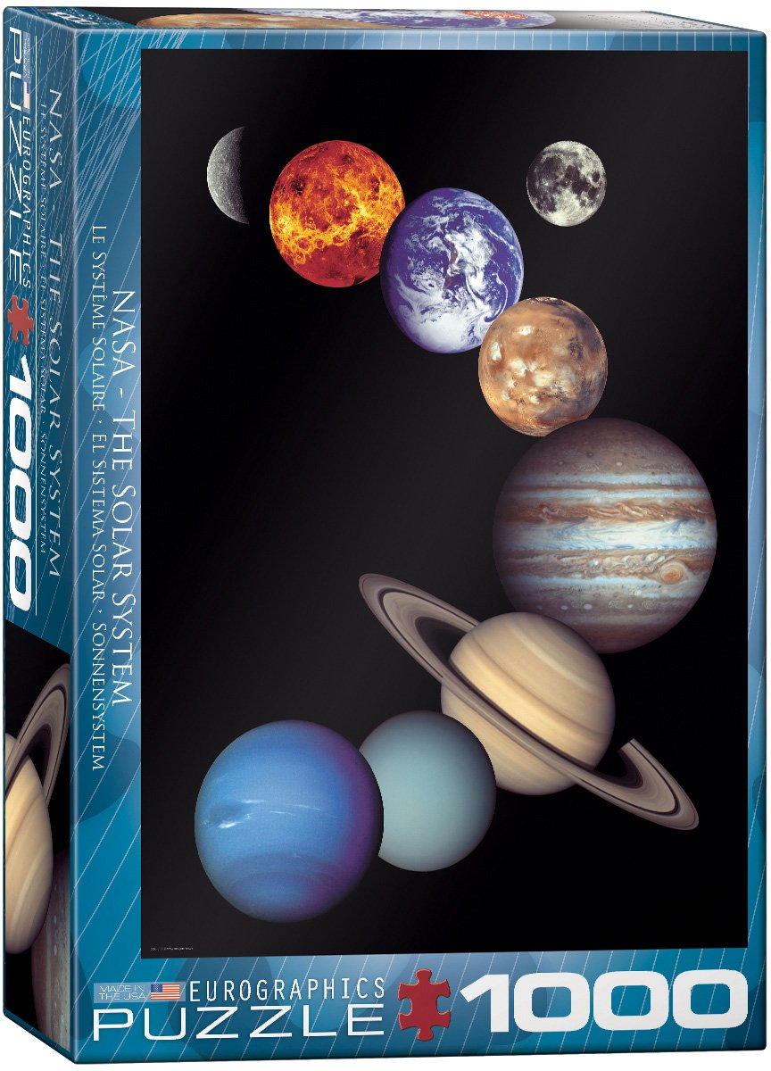 Planets in Space Jigsaw Puzzle 2020 Updated Version Puzzles for Adults 1000 Piece Jigsaw Puzzle Space Puzzle for Kids