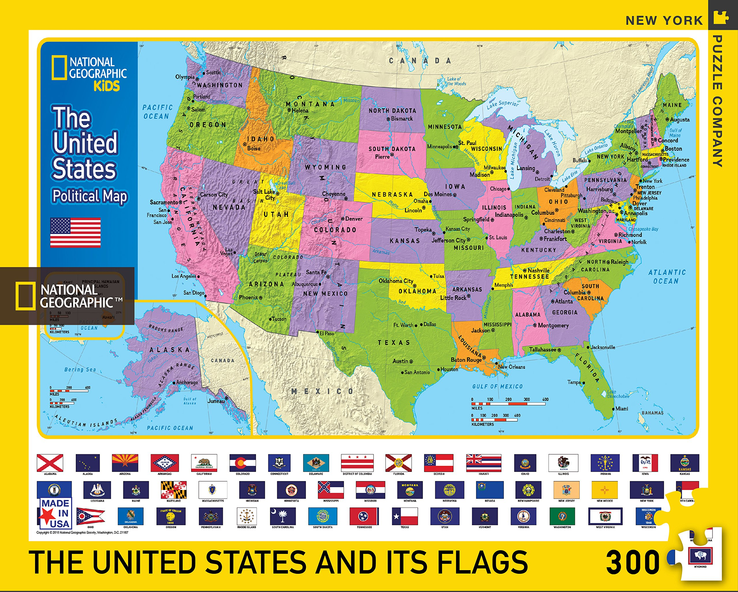 United states map jigsaw puzzle jigsaw puzzles for adults this national geographic 300 piece united states map jigsaw puzzle measures 18 inches by 24 inches when finished gumiabroncs Gallery