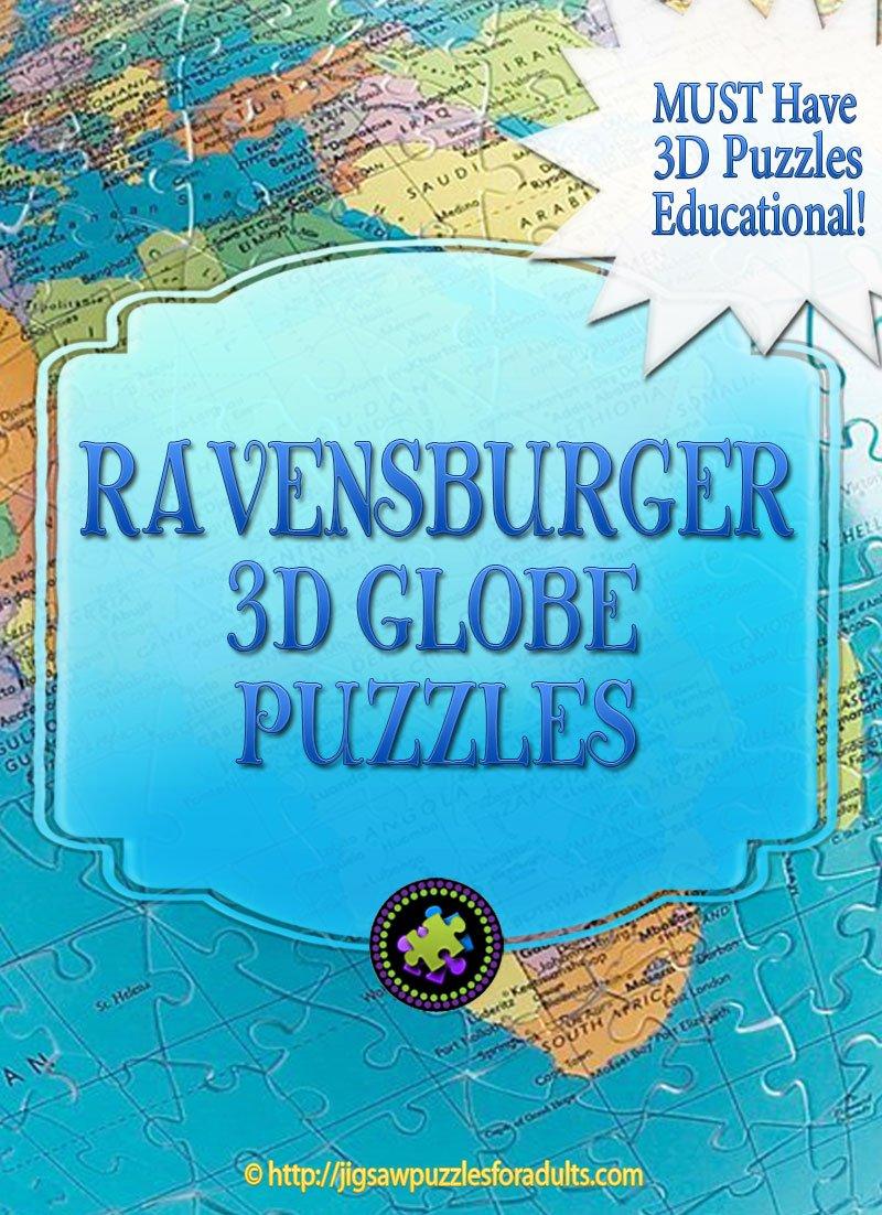 Ravensburger 3D Globe Puzzle