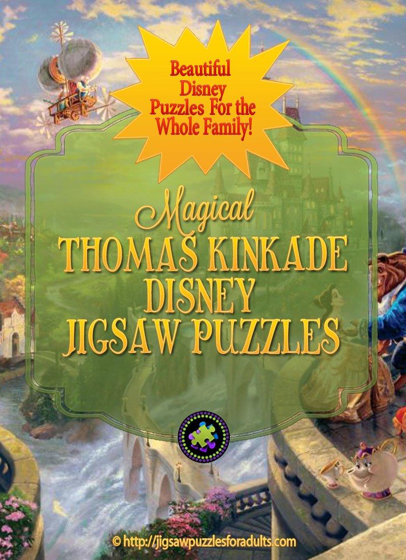 Thomas Kinkade Disney Puzzles