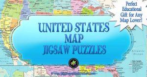 United States Map Jigsaw Puzzle