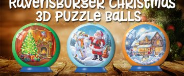 Ravensburger Christmas Puzzle Balls