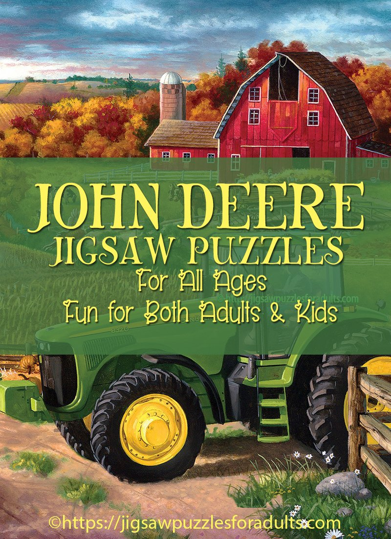 John Deere Jigsaw Puzzles | Jigsaw Puzzles For Adults