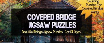 Covered Bridge Jigsaw Puzzles