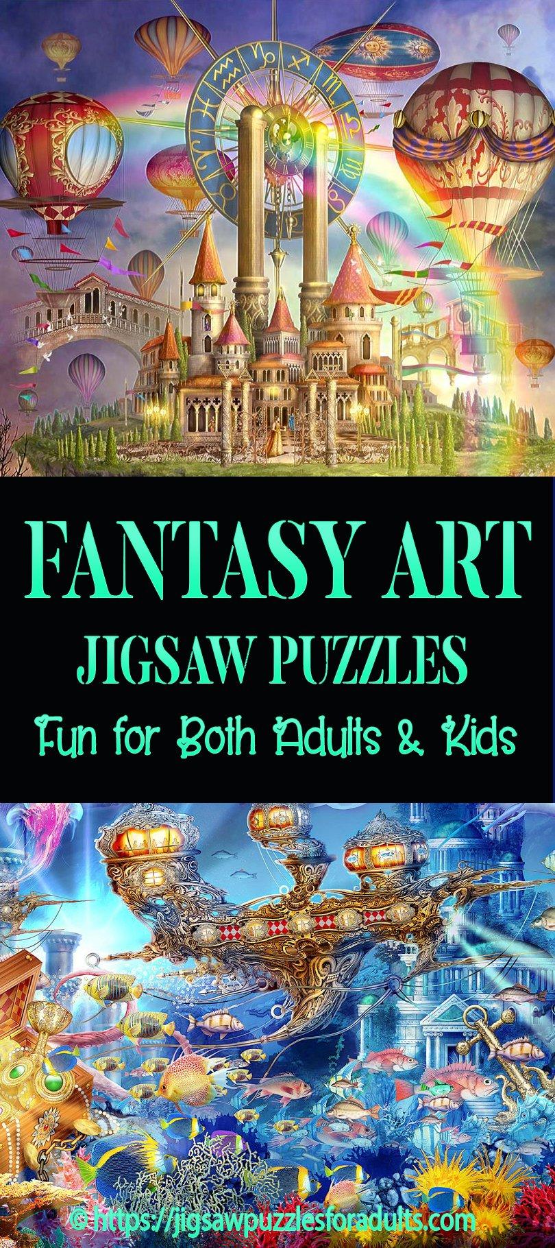 Fantasy Art Jigsaw Puzzles