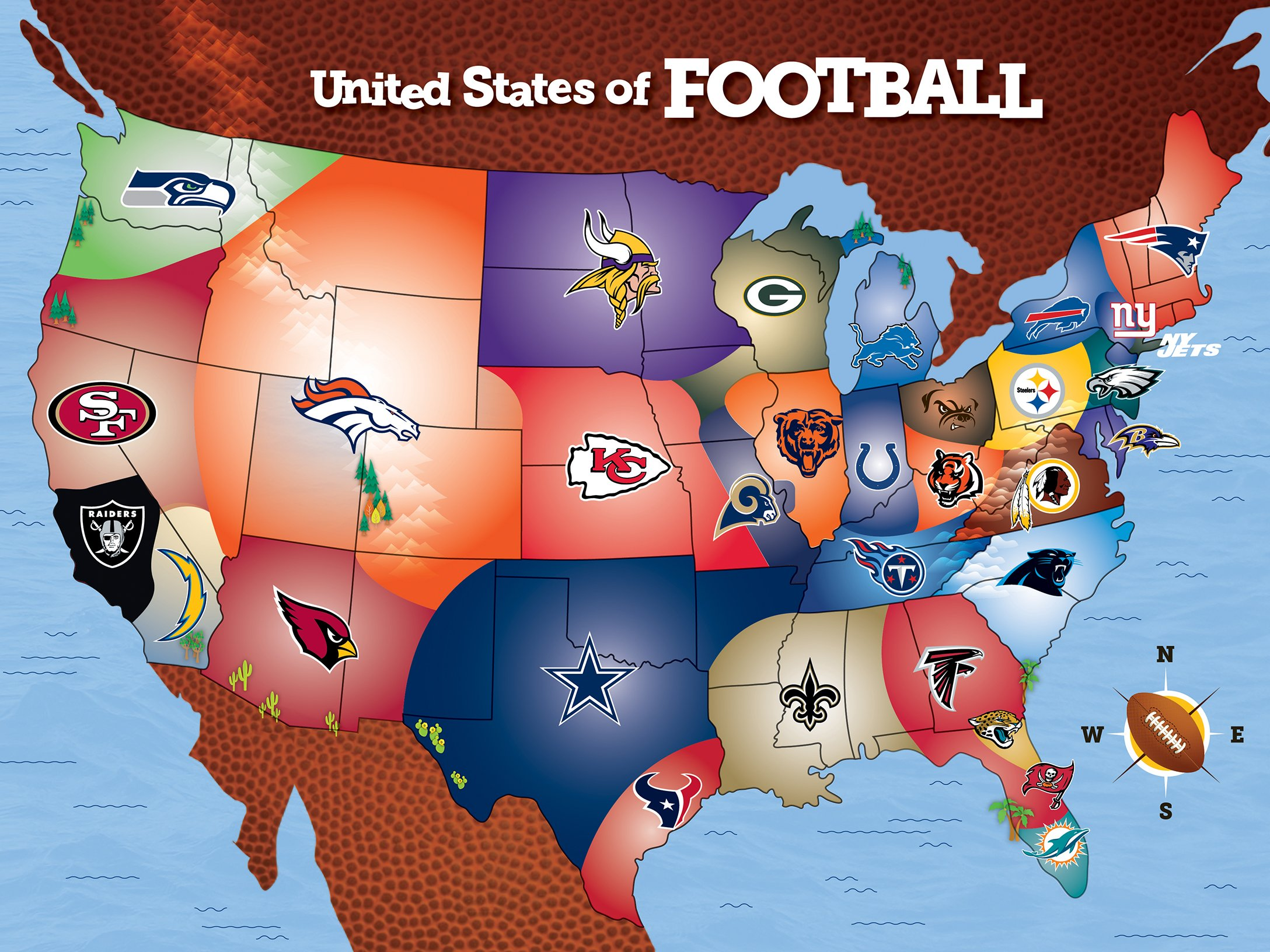 NFL Jigsaw Puzzles - What is Your Favorite NFL Team
