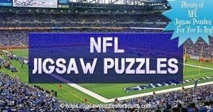 NFL Jigsaw Puzzles – Got a Favorite NFL Team