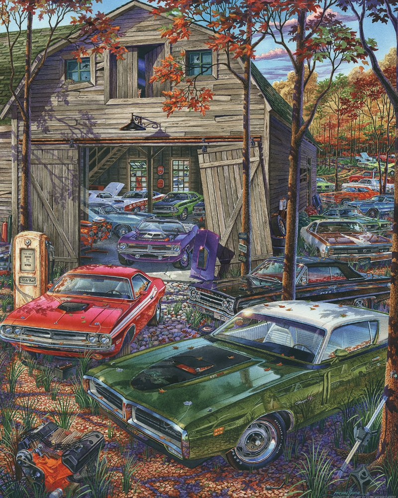 Jigsaw Puzzles Of Old Cars | Jigsaw Puzzles For Adults