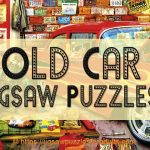 Jigsaw Puzzles Of Old Cars