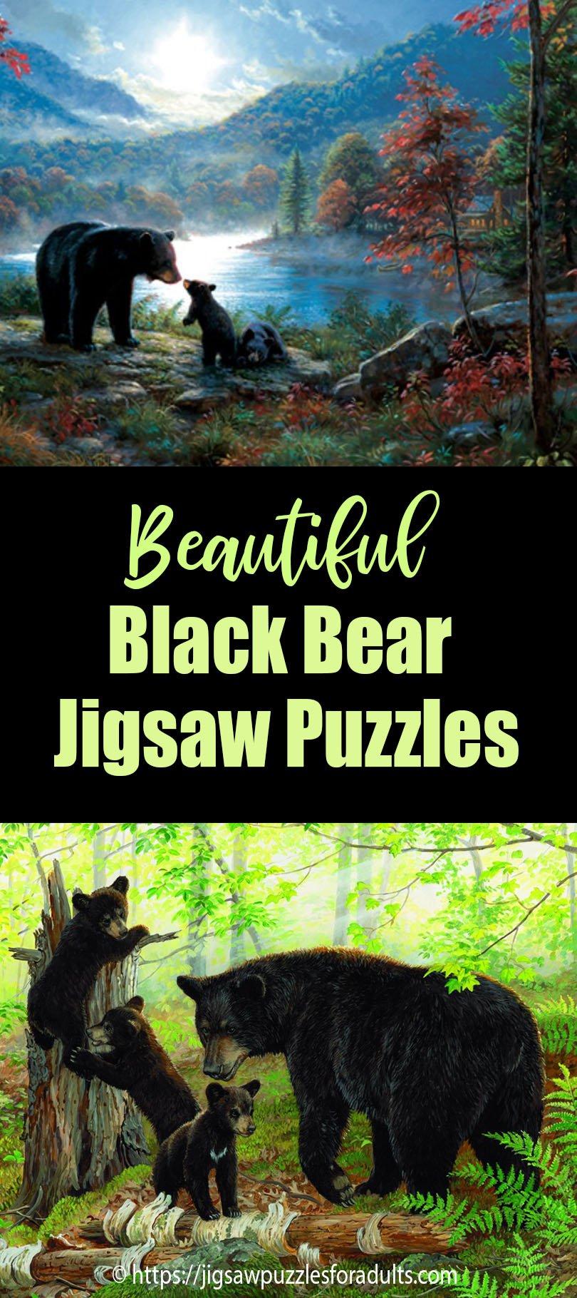 Black Bear Puzzles
