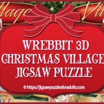 WREBBIT 3D Christmas Village Jigsaw Puzzle