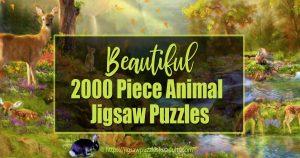 2000 Piece Animal Jigsaw Puzzles