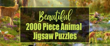 2000 Piece Animal Jigsaw Puzzles