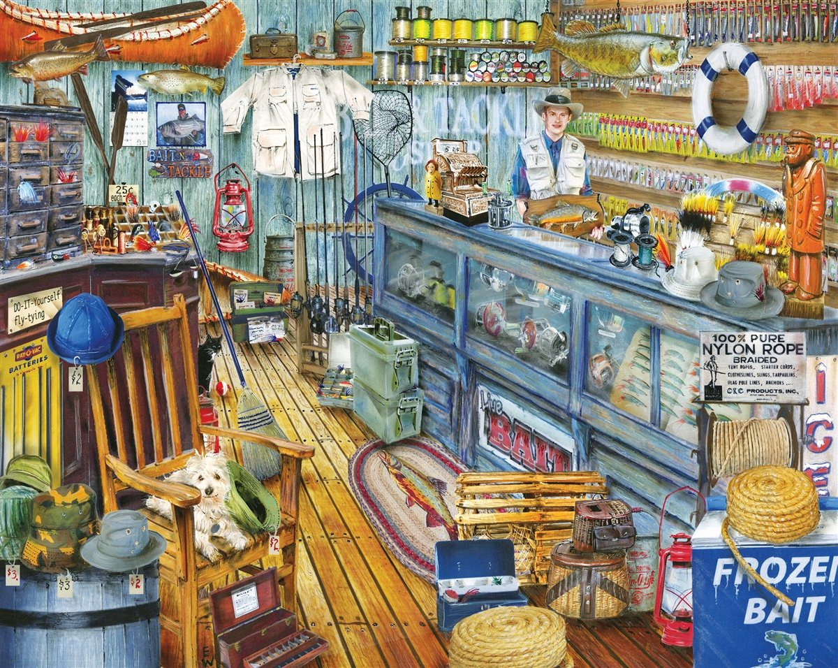 Fishing Lure Jigsaw Puzzle   Jigsaw Puzzles For Adults