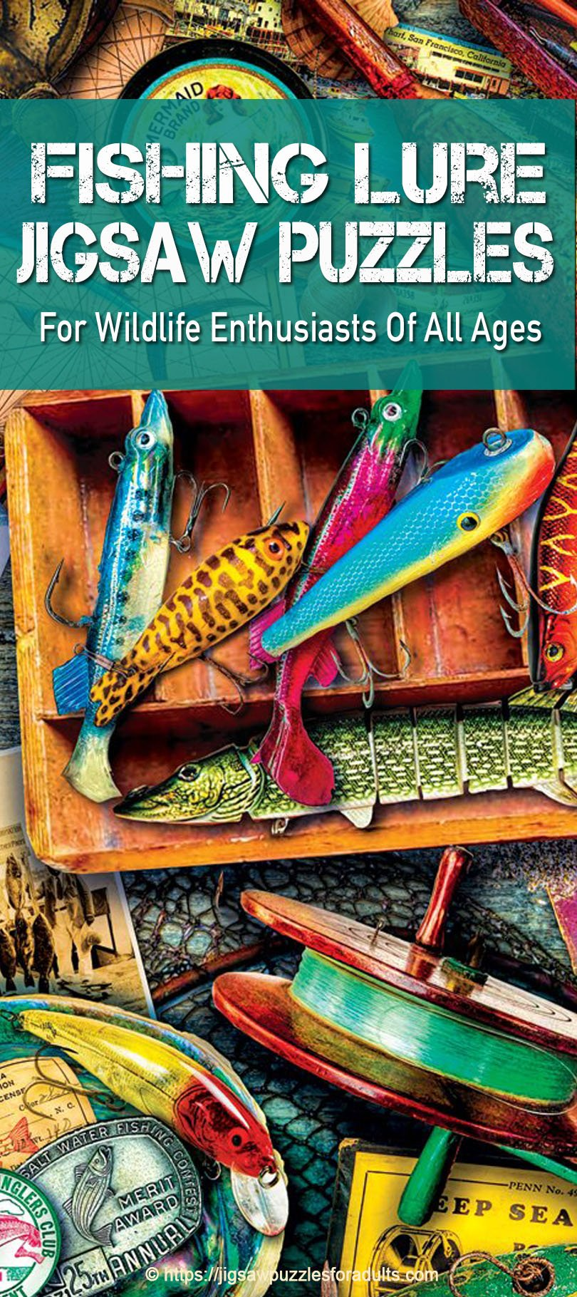 fishing lure jigsaw puzzle