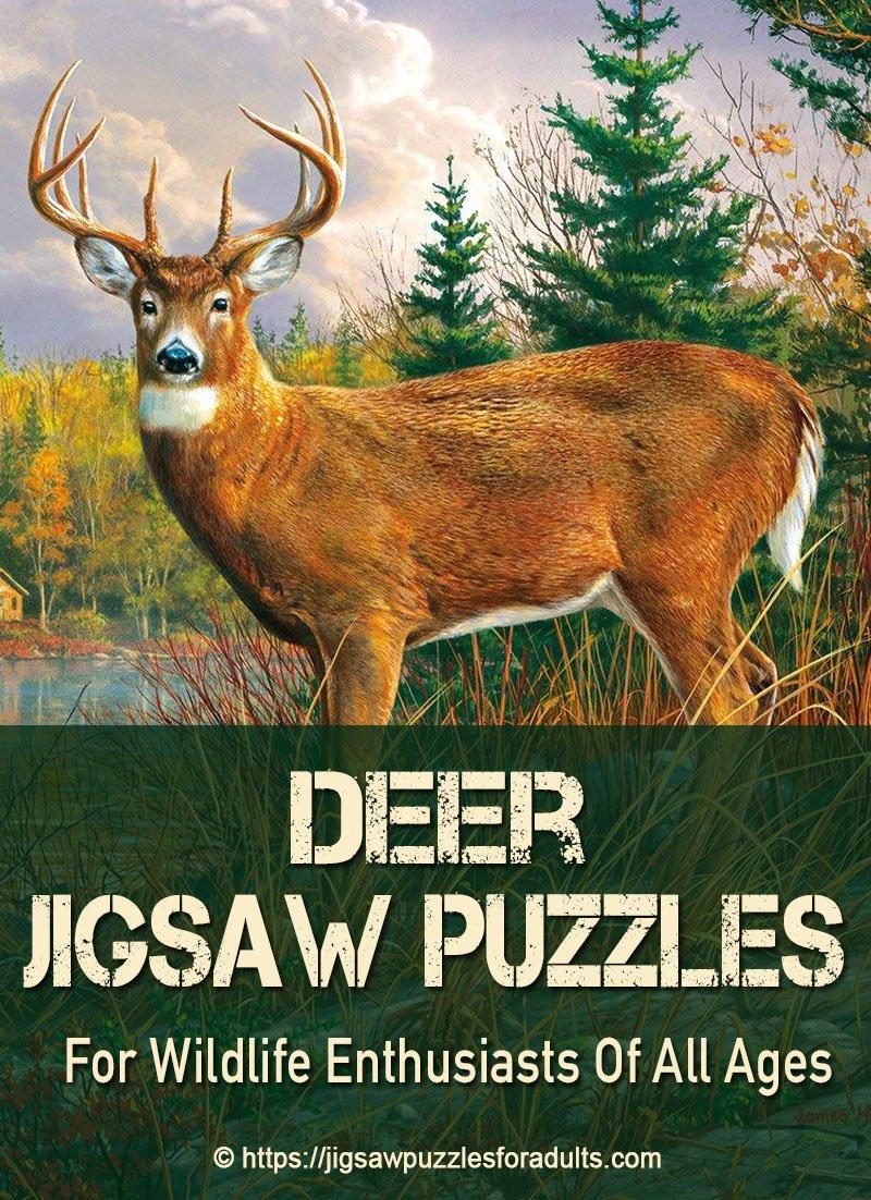 jigsaw puzzles of deer