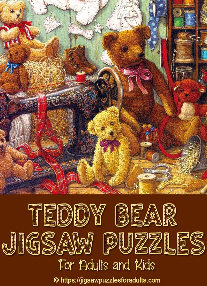 Teddy Bear Jigsaw Puzzles